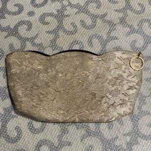 Vintage Floral Jacquard Clutch / Evening Bag Purse